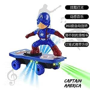 Amazon.com: Super-Tech Vibrato Electric Stunt Colorful Light ...