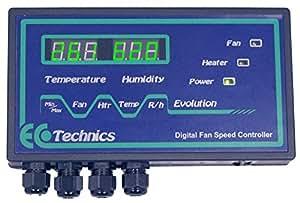 Temperatura de ecotecnia Evolution/humedad controlador Digital
