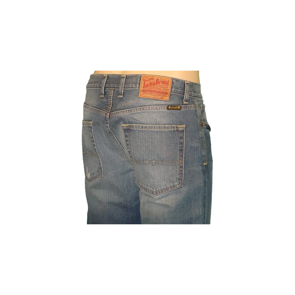 Lucky Brand Mens Skinny 101 Jeans 31 X 32 Clothing