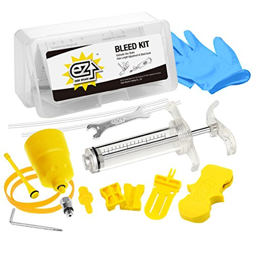 Revmega Hydraulic Mineral Disc Brake Bleed Kit Tool for Shimano - Fluid Not Included (Shimano Bleed Kit)