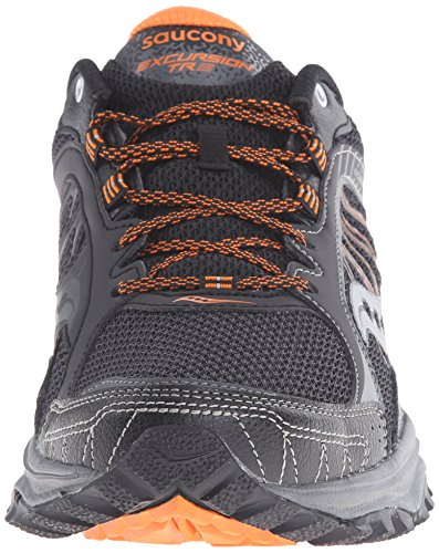 Escursione Uomo Saucony Tr9 Trail Running Nero / Arancione