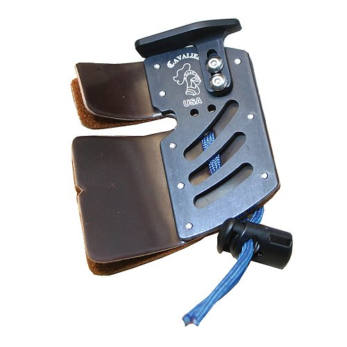 Arizona Archery Enterprises Cavalier Cordovan RH Elite Tab, Black, ()