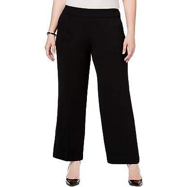 Alfani Plus Size Wide-Leg Pants