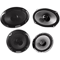 Alpine SPE-6090 6 x 9 2 Way Pair Of Car Speakers + Alpine SPE-6000 6.5 2 Way