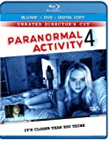 Paranormal Activity 4: Unrated Director's Cut (Blu-ray + DVD + Digital Copy)