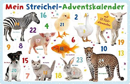 Mein Streichel-Adventskalender Kalender – 25. September 2018 arsEdition B077698B73 NON-CLASSIFIABLE Weihnachten
