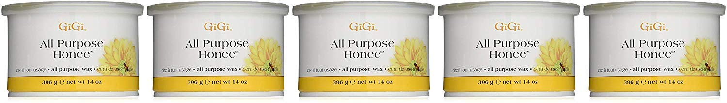 GiGi All Purpose Honee, 14-Ounces (5 Pack) by GiGi