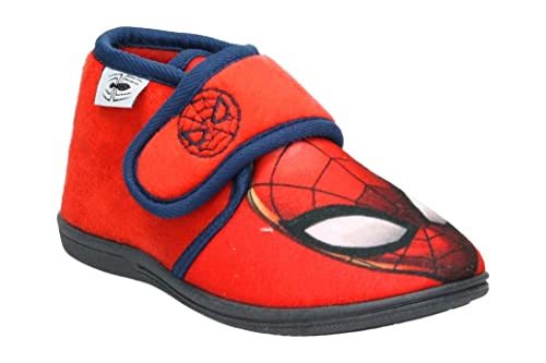 Cerdá Zapatillas de Casa Media Bota Spiderman, Niños: Amazon.es: Zapatos y complementos
