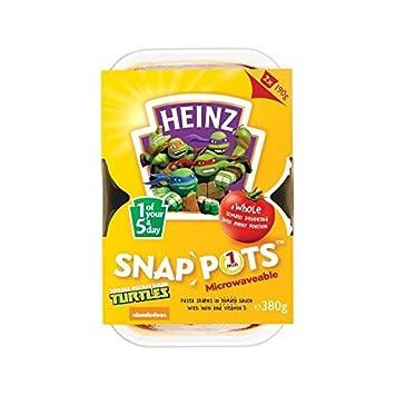 Amazon.com : Heinz Mutant Ninja Turtles Snap Pots 2 x 190g ...