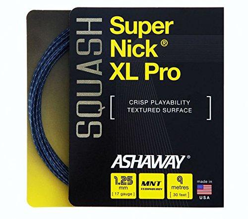 Ashaway SUPERNICK XL PRO Squash String Set