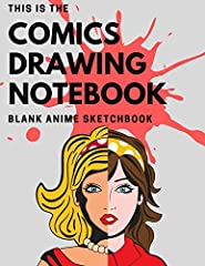 Hello everybody. We want to show you our pretty blank comic book. It can transfer you to the diffrent world, for many hours.Our notebook is perfect for a gift for a child or for adult. If you like to draw creative stories don't hesitate anymo...