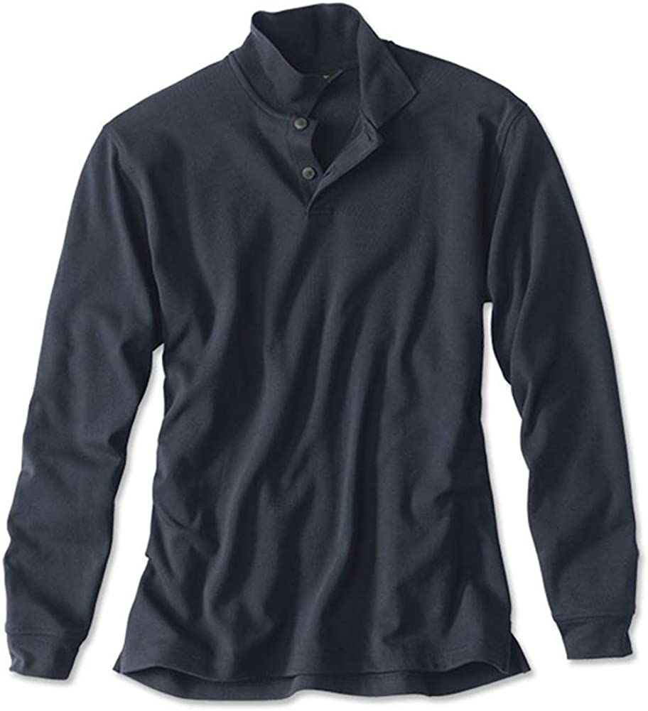 Orvis Mens Classic Long-Sleeved Polo