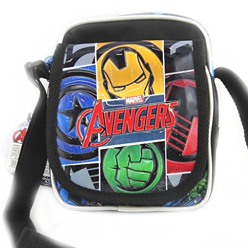 Bag french touch Avengersmulticolore nero (19x15x10 cm).