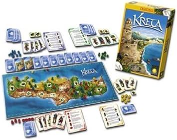 Noris 606181201 Kreta - Juego de Mesa de Estrategia (Contenido ...
