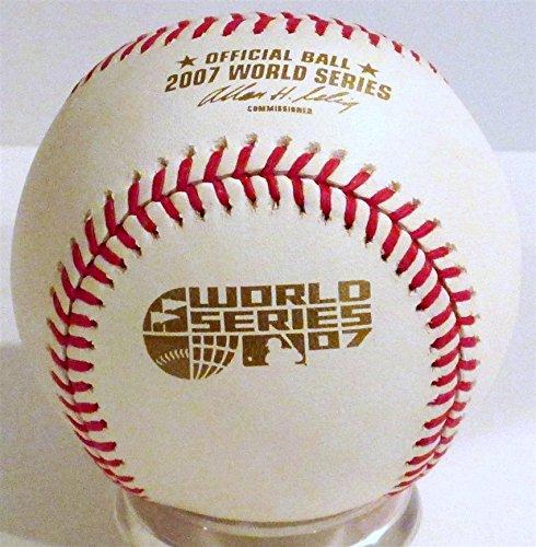 Rawlings 2007 Official World Series Game Baseball (2007 World Series Collectors)