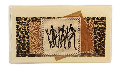 Africa Checkbook Cover Made in the USA by Jades Menagerie