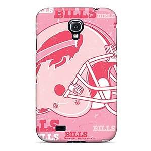 JasonPelletier Samsung Galaxy S4 Shockproof Cell-phone Hard Cover Allow Personal Design HD Buffalo Bills Image [rTU19489qvjZ]