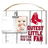"KH Sports Fan 10"" x 8"" Boston Red Sox Clip It Weathered Baby Logo Photo Frame"