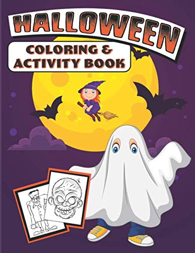 Halloween Coloring & Activity Book]()