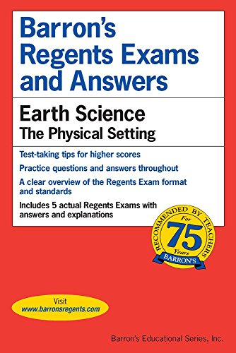 Regents Exams and Answers: Earth Science (Barron's Regents Exams and Answers) cover