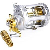 One Bass Fishing Reels Level Wind Trolling Reel...