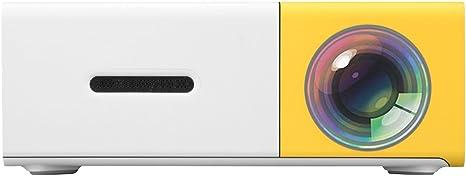 Excelvan Home Cinema Mini Proyector YG300 320 * 240P Soporte 1080P ...