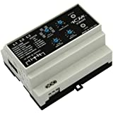 ICM Controls ICM409 Three-Phase Line Voltage Monitor Offering Protection Against Phase Loss/Reversal, Unbalance and High/Low Voltage, 50/60 Hz, 190-480 VAC, Din Rail Mount