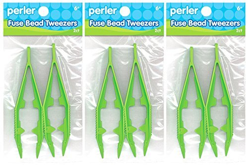 Each Tweezers - 3-Pack - Perler Beads Bead Tweezers (each pack has 2 Tweezers)