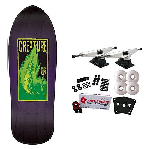 Creature Skateboard Complete Burn Witch Burn Relic 9.89