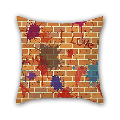 NICEPLW 20 X 20 Inches / 50 By 50 Cm Wall Throw Pillow Covers,each Side Is Fit For Bar Seat,gril Friend,boy Friend,floor,wife,gf
