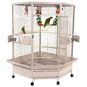 6. Giant Corner Bird Cage