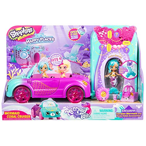 Places Coral Springs (Shopkins Happy Places Mermaid Convertible)