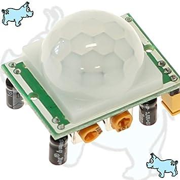 sensor de detección de movimiento PIR PIC Arduino