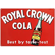 Royal Crown Cola Soda Tin Sign 13 x 17in
