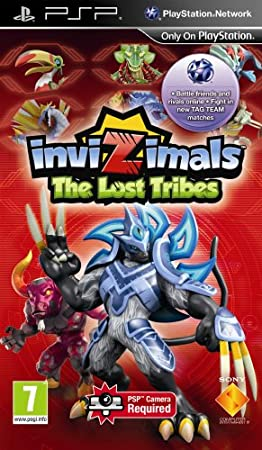 INVIZIMALS The Lost Tribes PSP Region Free English Version PAL
