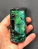 Wismec RX200 Skin Wrap Green Onyx S766 by Jwraps