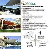 COSCOOL Shade Sail Hardware Kit for Sun Shade Sails