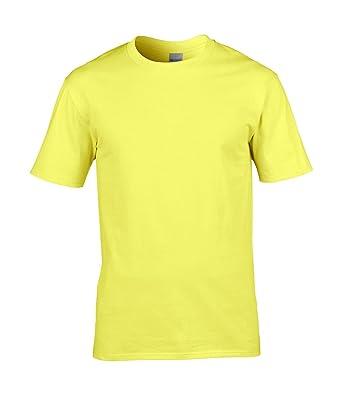 9a44540a6e212f 4100=Gildan Premium Cotton Ring Spun T-Shirt Colour=Cornsilk Size=2XL:  Amazon.co.uk: Clothing