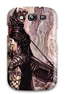 For Galaxy S3 Protector Case Steampunk Characters Phone Cover