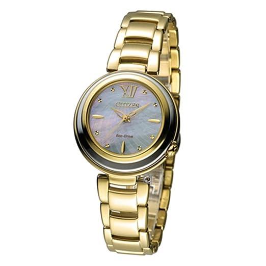 Citizen Citizen L - Reloj de cuarzo para mujer, correa de dorado color dorado: Amazon.es: Relojes