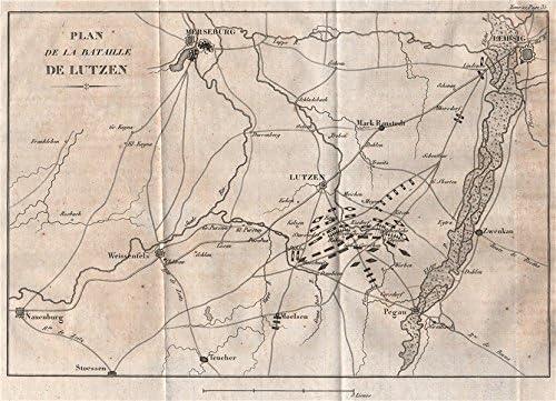 Schlacht Von Lutzen 1813 Leipzig Merseburg Schlacht Von