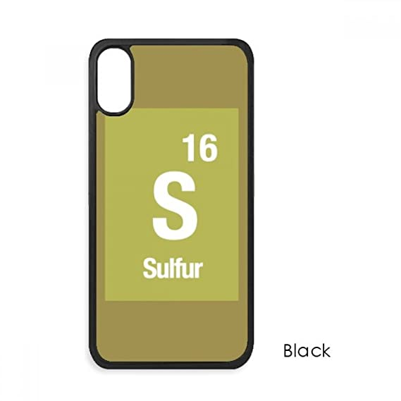Amazon S Sulfur Chemical Element Science For Iphone X Cases