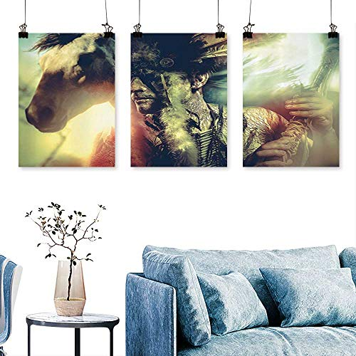 SCOCICI1588 3pcs Triptych Angel Wings Skull and Heart Full of Blood Symbol of Real Love Bathroom Print On Canvas No Frame 12 INCH X 12 INCH X 3PCS -