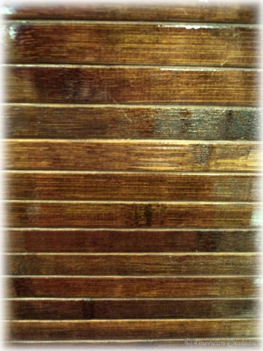 Bamboo Slat Rug Home Decor