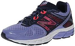New Balance Women's W670V1 Running Shoe, Violet/Red, 7 B US