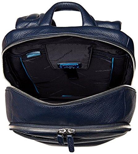 Piquadro Modus Mochila portaordenador con compartimentoportaiPad®Pro y portaiPad®mini acolchado - CA3214MO (Azul noche) Azul noche