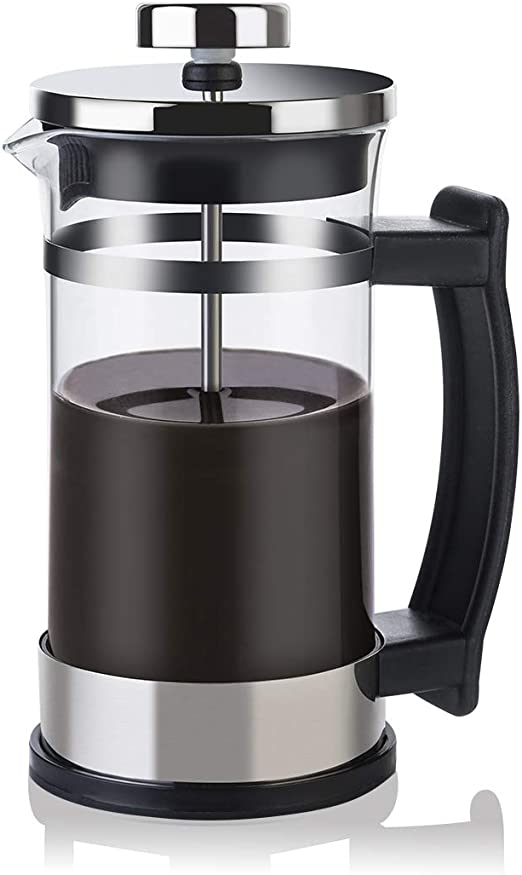 Amazon.com: Cafetera francesa de cristal para té – Cafetera ...