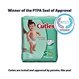 Cuties Baby Diapers, Size 5, 27-Count, Pack of 4