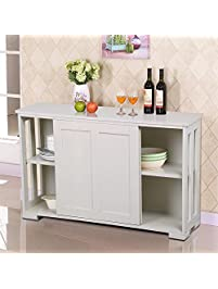Buffets And Sideboards Amazoncom - Dining room buffet cabinet
