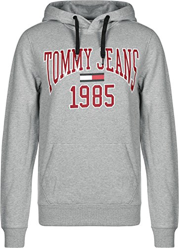 Gris Sweat Graphic À Capuche Chiné Tommy Jeans Essential tqSw1aY